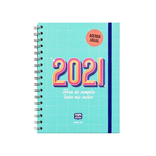 Agenda 2021 Semana vista - Hora de cumplir todos mis sueños