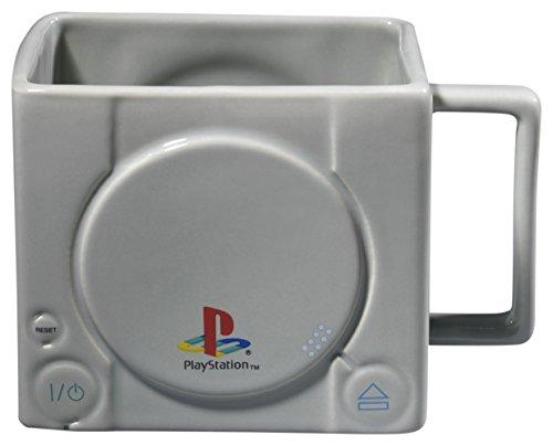 GB eye Playstation Konsole 3D Tasse Holz verschiedene 15x10x9cm