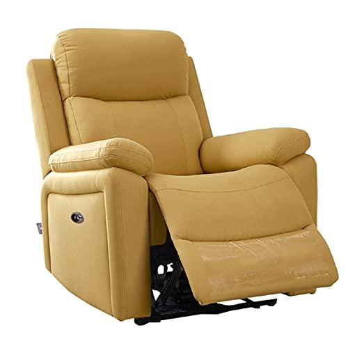 DAPAO - Poltrona massaggiante multifunzionale, reclinabile a 160 gradi, adatta per soggiorno, studio, camera da letto, 85 x 100 x 101 cm, tipo manuale/elettrico