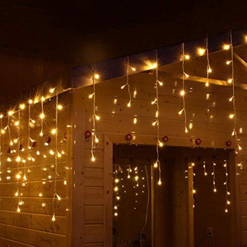 LYYN Cadena de luz Amazon led Cortina Icicle Luces Proyecto iluminación Luces de Estrellas decoración de la habitación Luces estrelladas
