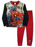 Spiderman Hero Power Jungen Schlafanzug 7-8 Jahre
