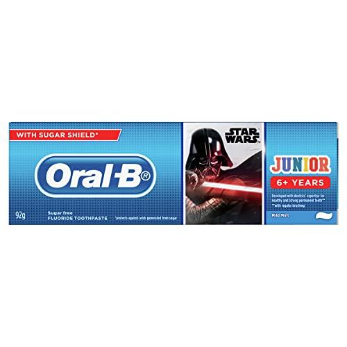 Oral-B Star Wars Junior 6plus Years Toothpaste Mild Mint, 92g