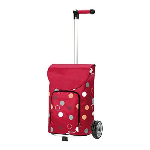 Andersen Shopper Unus und 41 Liter Tasche Kira rot mit Kühlfach
