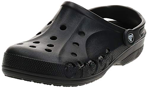crocs Baya, Zuecos Unisex Adulto, Negro (Black), 45/46 EU