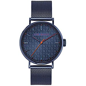 Save on Ted Baker Men's MIMOSAA Quartz Watch with Stainless Steel Strap, Blue, 20 (Model: BKPMMS003) and more