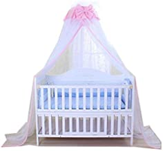 Baby Net Baby Toddler Bed Crib Dome Canopy Netting (butterfly white)