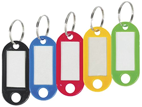 Merangue 20-Pack Plastic Key Tags - 1008-7601-00-000