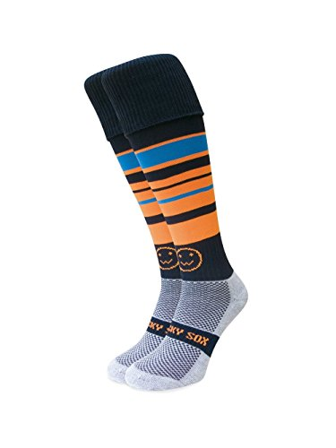 WackySox Tangerine Dream Sport-Socken Young Adult Shoe Size 2-6
