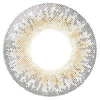 リルムーン マンスリー 2箱セット(2枚)【クリームグレージュ PWR:-5.50】1ヶ月 度あり ローラ カラコン LILMOON Monthly