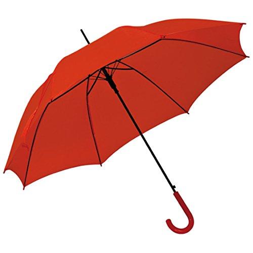 Automatikschirm - Regenschirm - Ø 100 cm (rot)