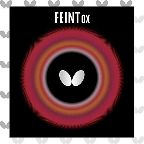 バタフライ(Butterfly) 卓球 ラバー フェイント OX ツブ高 1枚 (スポンジ無し) 00060 ブラック FEOXB