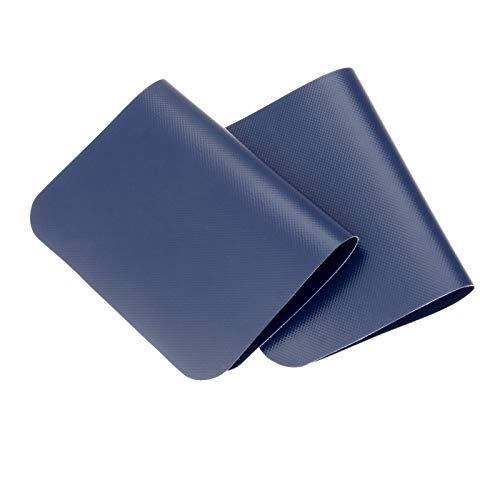 Mgoodoo 2 stuks blauwe boot reparatie lijm kit PVC patches set accessoires voor opblaasbare boot kajak luchtbed 130x200mm