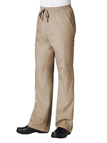 Red Panda Maevn Men's Full Elastic 10-Pocket Cargo Pant(Khaki, Large)