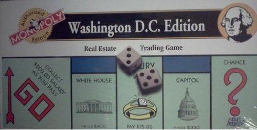Monopoly - Washington D. C. Edition (Real Estate Trading Game)