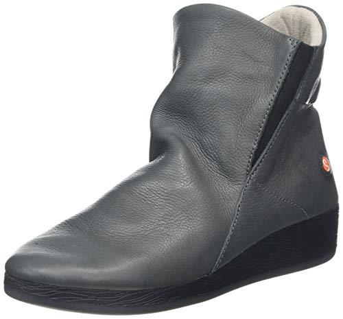 Softinos Damen ASTI536SOF Stiefeletten, Grau (Grey 001), 35 EU