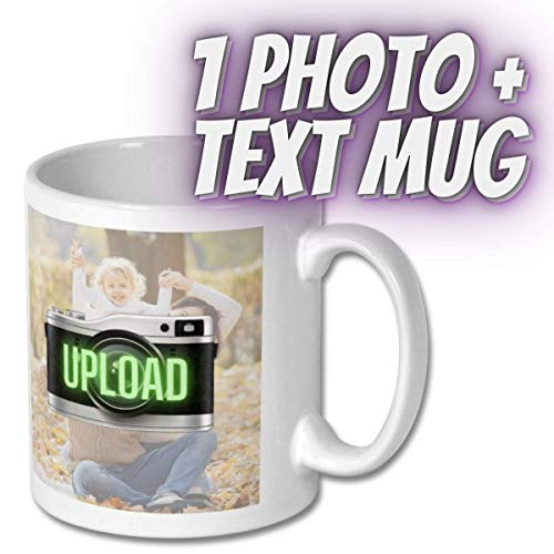 Personalised 11oz Mugs, Upload Your Image - Add Your Text - Fathers Day,...