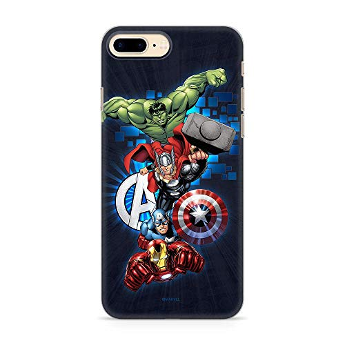 ERT GROUP Original Marvel Avengers TPU Case for iPhone 7 PLUS, iPhone 8...