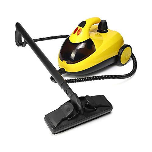 LKNJLL Heavy-Duty Steam Cleaner With Accessories, Extra-Long Power Cord, Chemical-Free Pressurized Cleaning for Most Floors, Counters, Appliances, Windows, Autos, And More