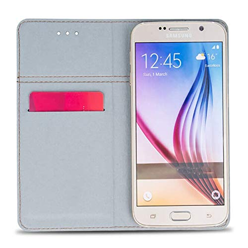 Supercase24 Huawei Honor 4X Che2-L11 Handy Tasche Book Case Klapp Cover Schutz Etui Hülle - 4