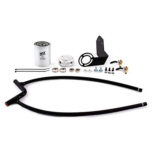 Mishimoto MMCFK-JK-12BK Coolant Filter Kit Compatible With Jeep Wrangler JK 2012-2018 Black (Automotive)