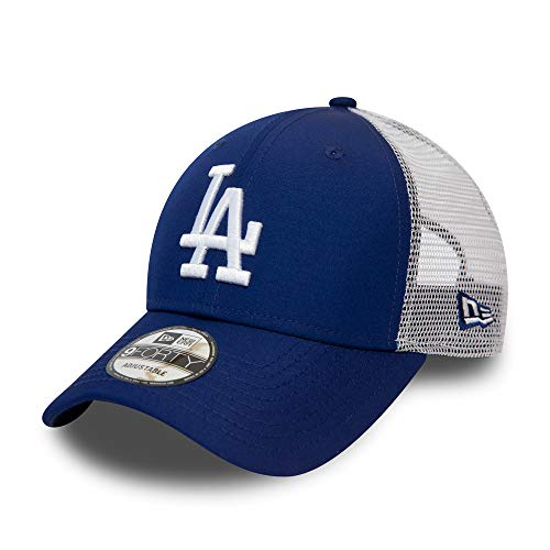 New Era Los Angeles Dodgers MLB Cap Baseball Kappe 9forty Verstellbar Basecap Blau - One-Size