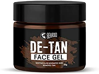 BEARDO De-Tan Face Gel For Men, 50 g