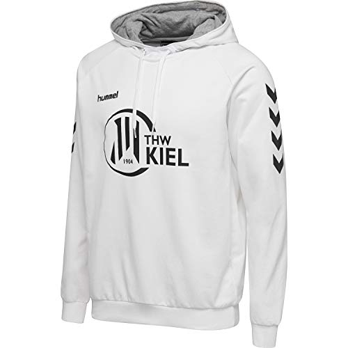 hummel THW Kiel Go Cotton Hoodie, Farbe:weiß, Größe:M