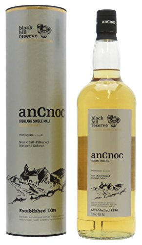 AnCnoc Black Hill Reserve Scotch di Malto Singolo - 1000 ml
