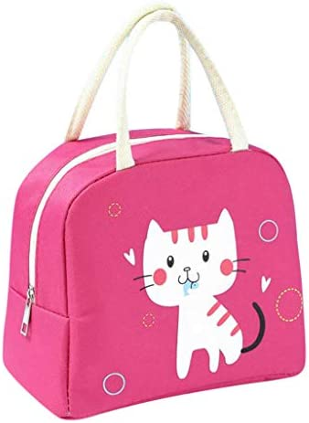 Cartoon Insulated Lunch Bag For Women Men Kids Cooler Tote Food Lunch Box Tough Spacious Adult product image