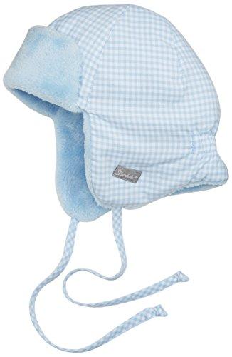 Sterntaler Baby-Jungen Fliegermütze Mütze, Blau (Himmel 325), 45