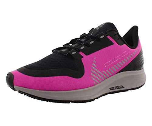 Nike Air Zoom Pegasus 36 Shield Women's Running Shoe FIRE Pink/Silver-Black-Atmosphere Grey Size 6