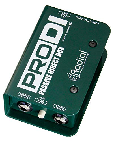 2 of the best budget di boxes for bass and guitar - Radial Pro DI Passive Direct Box
