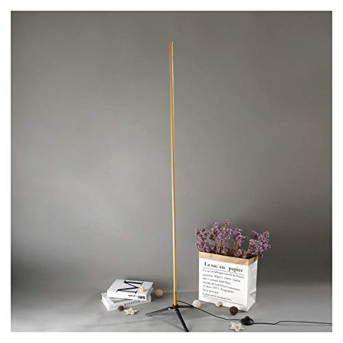 QIANGQSM Nórdico Minimalista trípode LED Lámparas de pie Lámparas de pie Simple Creativo for Sala de Estar Led Negro Metal lámpara de pie Luminaria Lámpara de Mesa