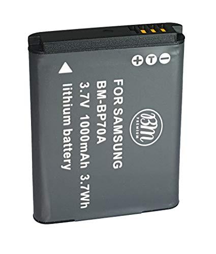 BM Premium BP-70A, BP70A Battery for Samsung DV150F, ES65, ES70, ES80, MV800, PL120, PL170, PL20,...