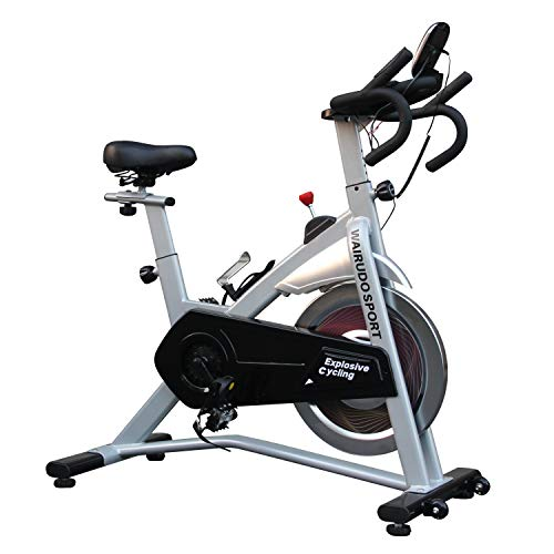 WAIRUDO SPORT Exercise Bike For Home Workout Indoor Cycling Bike Stationary With 18kg Flywheel Heart Rate Sensors Quiet And Smooth For Home Gym