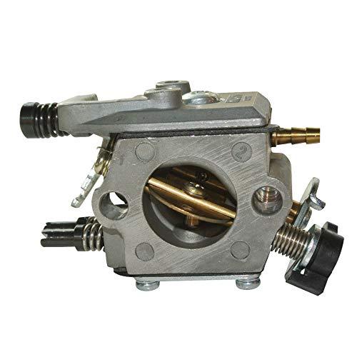 Potente carburador carburador para Husqvarna 51 55 Motor de motosierra de repuesto para Husqvarna 136 137 141 142 36 recortadoras