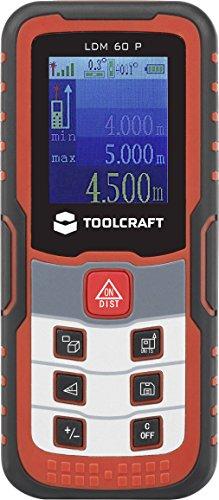 Toolcraft Laser-ENTFERNUNGSMESSER LDM 60 J