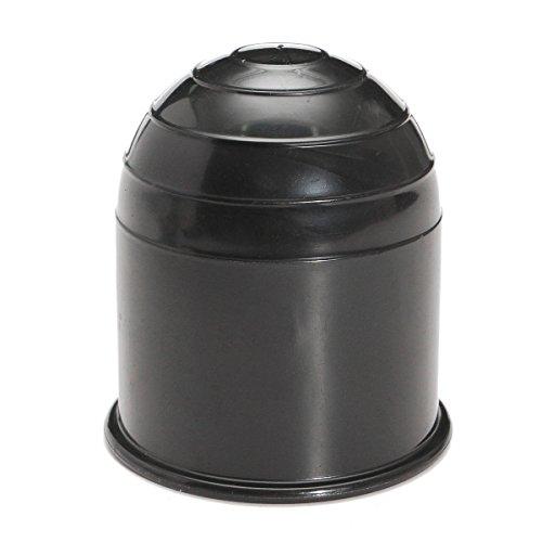 WINOMO Bouchon de protection pour boule de couverture du couvercle du ballon de protection pour casquettes de remorque universel 50 mm (Noir)