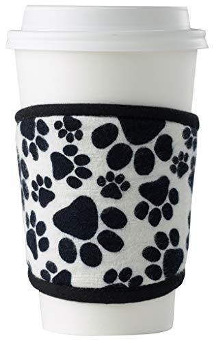 Reusable Cup Sleeve - Great Gift for Dog Lovers