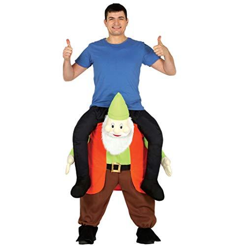 Unbekannt Trag Mich Kostüm Zwerg Carry me Kostüme Märchen Huckepack Kostüme Fasching