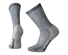 WARM INSULATION: Experience durability at its peak with the Smartwool Men's PhD Outdoor Light Crew Socks. These socks are built for performance in the highest degree, making them ready for any adventure on your list. COMFORTABLE FIT: The Men's PhD Ou...