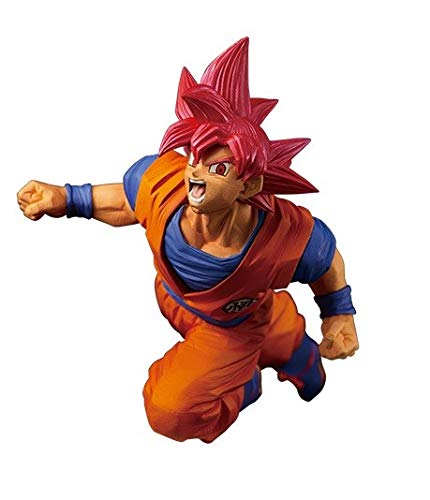 Banpresto. Dragon Ball Super Figure Son Goku SSJ God FES!! Stage9 Ahora Disponible!