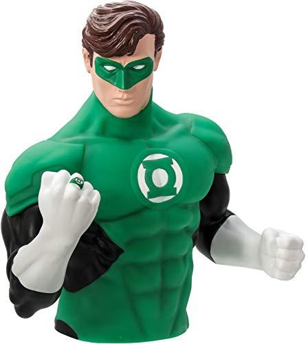 Green Lantern PVC Bust Bank