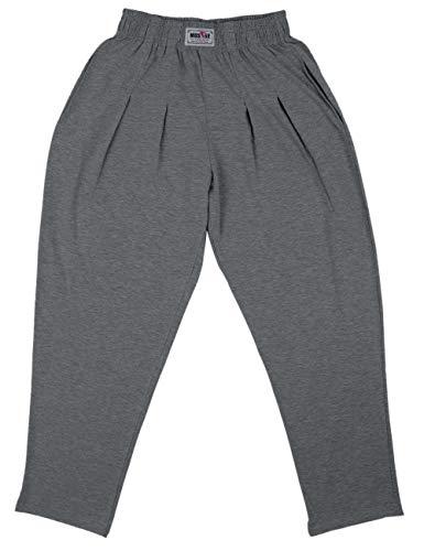Pantalones Holgados para los Hombres Gimnasio de musculación de algodón y Spandex...