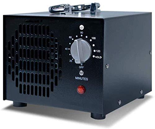 Luyshts Purificador de aire 3500mg/h generador de ozono para áreas de dentro de 5381.95 pies cuadrados, esterilizador desodorizante para el hogar, oficina, barco y coche con función de temporizador