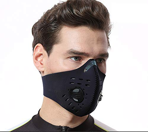 FANA Dust Face Breathable Mask Unisex Mouth Mask Dust Mask Anti Pollution Mask Reusable for Cycling Camping Travel