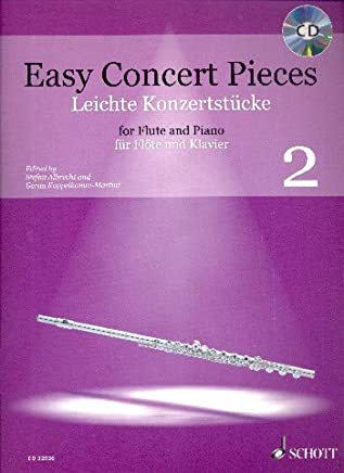 Easy concert pieces Volume 2 +CD --- Flûte traversière et piano