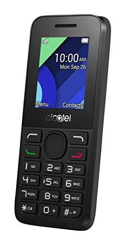 Alcatel Handy (4,57 cm (1,8 Zoll) Display, VGA Kamera) grau