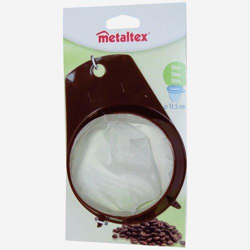Metaltex 256401080 Filtre à café permanent, diamètre 11,5 cm, marron