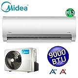 Climatizzatore mono split PRIME 9000 Btu MIDEA classe A++/A+ inverter nuovo refrigerante R32